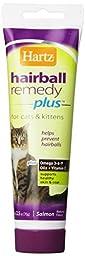 Hartz Hairball Remedy Plus for Cats & Kittens Paste 2.5 Oz (2 Pack)