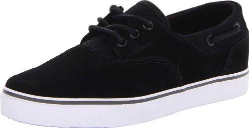 C1RCA Men's Valeo Sneaker,Black/Wool,8 M US