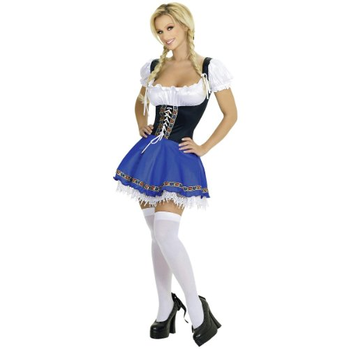 Serving Wench Costume - Medium/Large - Dress Size 6-10