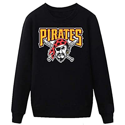 TOTOT Men's Pittsburgh Pirates MLb Logo Sweatshirt