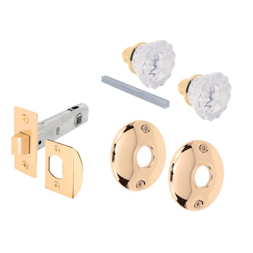 Prime-line E2317 Passage Door Latch Glass Knob Set with Latch Bolt (Glass Door Knobs With Lock compare prices)