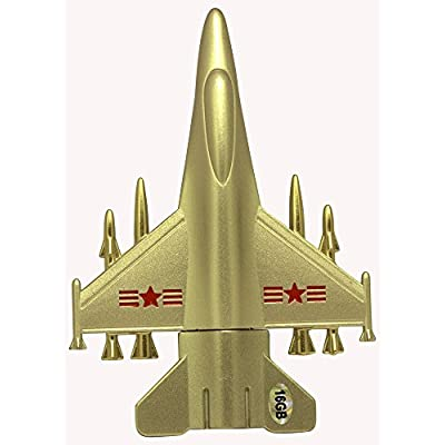 16 GB Pen Drive Sliver Color Airplane Shape USB 2.0 Pen Drive MT1022