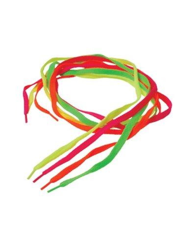 Neon Shoe Laces (12 Pair) - Bulk