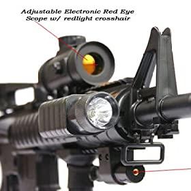 Red Dot Laser with Mount fits all RIS system, M4 G36 SG 552