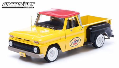 1965-chevy-c-10-stepside-truck-pennzoil-1-18-yellow