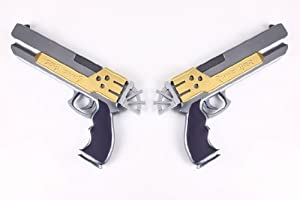 CTMWEB - Final Fantasy X-2 Cosplay Accessory - Yuna's Dual Pistol 1st Version