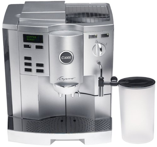 Capresso 153.04 C3000 Automatic Coffee and Espresso Center, with Pump-Auto Cappuccino System (C3000 Jura compare prices)