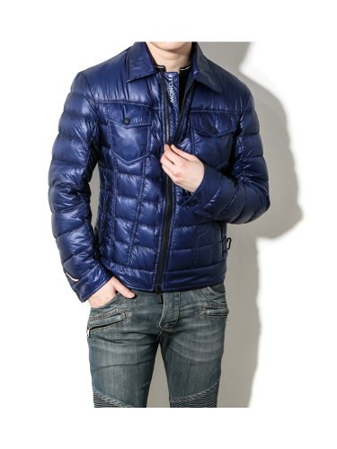 Moncler Moncler Men's Grenoble FREHEL Goose Down Jacket Deep blue 2 (IT) M (US)