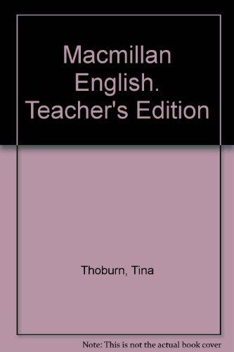 Macmillan English. Teacher's Edition PDF