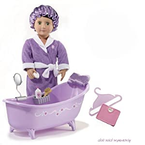 Amazon Com Our Generation Slippertub With Bath And Body