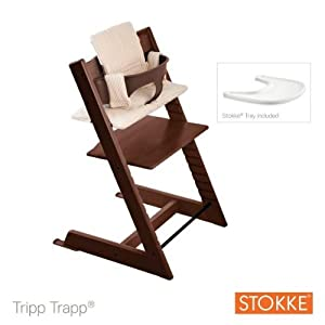 Stokke - Stokke Tripp Trapp High Chair Walnut Bundle