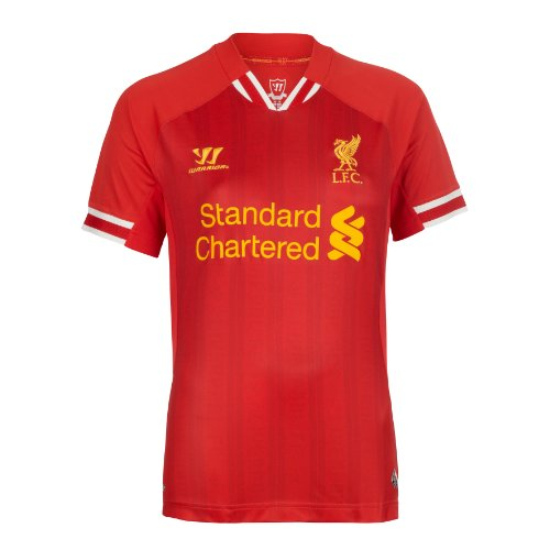 LFC Womens Home Shirt 13/14, RED, UK 14