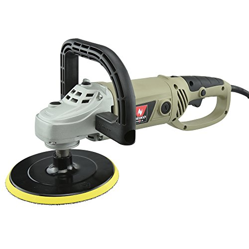 Neiko® 10671A 7-Inch Electric Polisher and Buffer | 6 Variable Speeds | UL/CUL Listed (Electric Polisher compare prices)