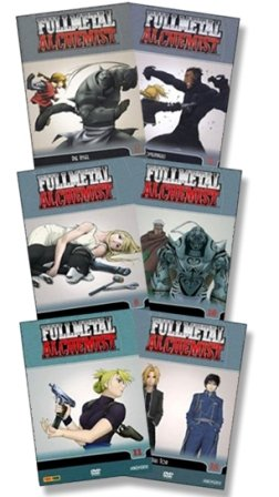 Fullmetal Alchemist - Vol. 07 bis 12 6er DVD-Set - Deutsch