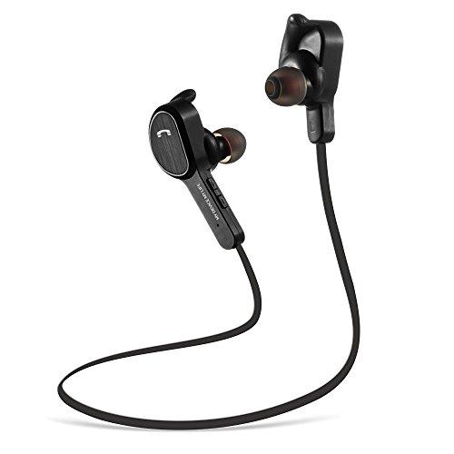 Cuffie Wireless Bluetooth Auricolari Magnetiche in Ear Sport Impermeabili, MengK Auricolare Bluetooth Senza Fili Noise Cancelling Stereo Wireless Earbuds Auricolare Bluetooth 4.1