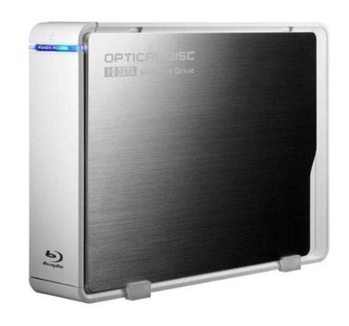I-O DATA 外付けBlu-rayディスクドライブ USB2.0接続 8倍速書き込み対応 バリューモデル BRD-UH08LE/KN