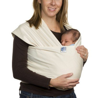 Moby Wrap Original Baby Carrier - Natural - Stylish Carriers - Baby Accessories - Kids Collection - Nursery Necessity - Comfortably Carry Baby In This Versatile Baby Wrap From Moby - For New Born And Up. front-387146