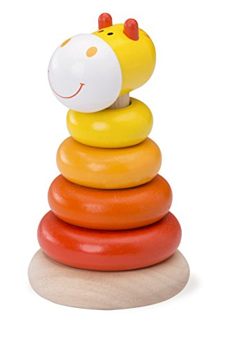 Wonderworld Giraffe Stacking Rings Toy