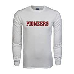 Denver White Long Sleeve T Shirt