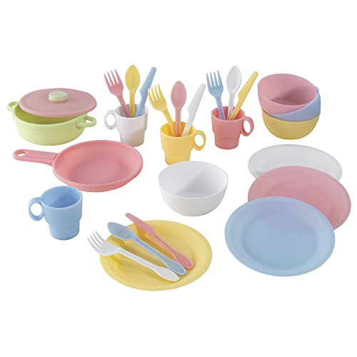 27 pc Cookware Playset - Pastel (Kidkraft Kitchen White compare prices)