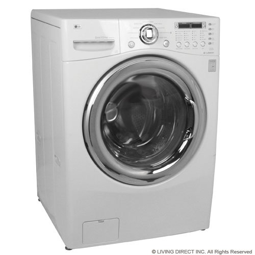 LG WM3987HW 27 Front Load Washer/Dryer Combo, 4.2 cu. ft. Ultra Capacity - White