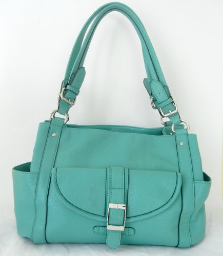 Concealed Carry Purse - Locking CCW Gun Purse - Addison in Seafoam by Fayth Concealed Carry