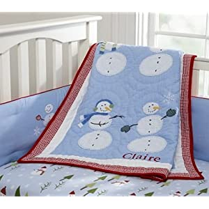 Childrens Nursery Bedding on Amazon Com  Pottery Barn Kids Snowman Nursery Bedding  Baby