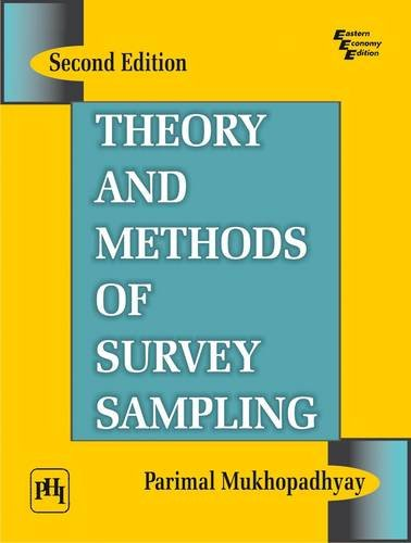 Survey sampling: theory and methods