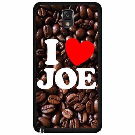 I Love Joe- Tpu Rubber Silicone Phone Case Back Cover Samsung Galaxy Note Iii 3 N9002