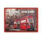 London Leyland Bus Fridge Magnet