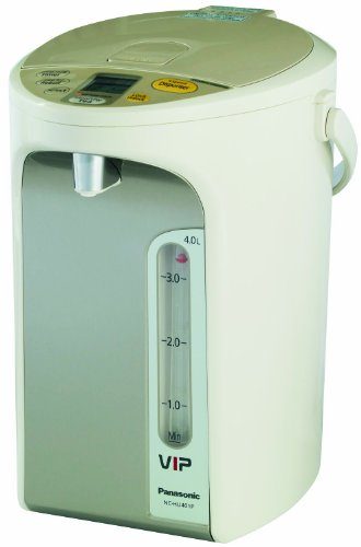 Panasonic Nc-Hu401P Water Boiler 4.2-Quart With Vacuum Insulated Panel