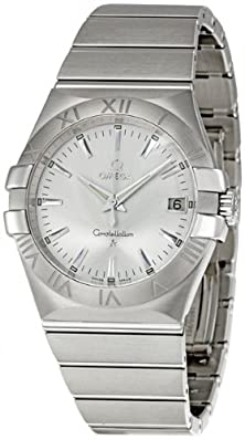 buy Omega Men'S 123.10.35.60.02.001 Constellation 09 Silver Dial Watch