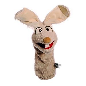 Living Puppets Quasselwürmer Mampfred Hase 40 cm