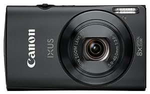 """Canon Ixus 230 HS Appareil photo numérique compact 12,1 Mpix Écran LCD 3"""" Zoom optique 8X Noir"""