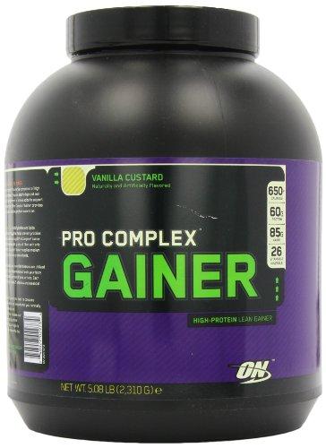 Optimum Nutrition Pro Complex Lean Mass Gain Powder Vanilla Custard 2310g