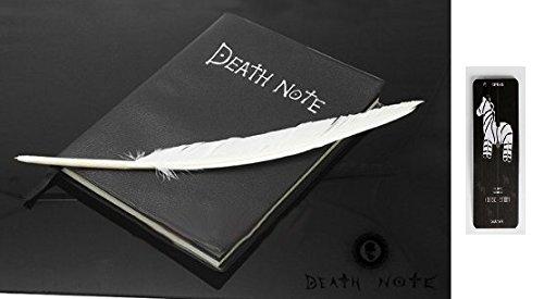 デスノート ノートブック+羽ペン+ステッカー コスチューム用小物