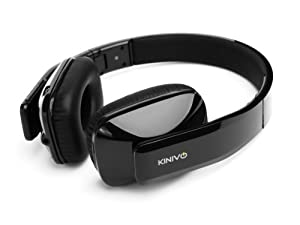 Kinivo BTH410 Hi-Fi Bluetooth Stereo Headphones - Wireless apt-X Music Streaming and Hands-Free calling