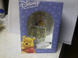 Disney Winnie The Pooh and Piglet Anniversary Clock