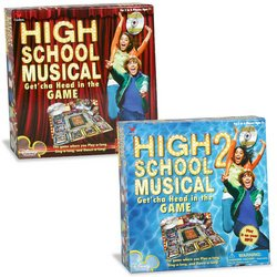 High School Musical CD Game 2-Pack
