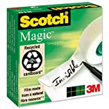 3M 81019MMX33 - Scotch Magic Tape Invisible 19mmx33m Matt 8101933