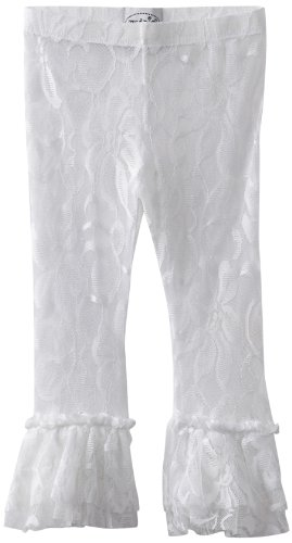 Mud Pie Baby Girls' Lace Legging, White, 12 18 Months (Mud Pie White Lace Leggings compare prices)