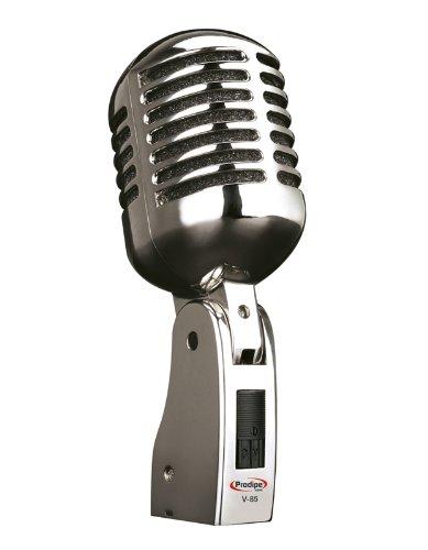 Prodipe V85 Vintage Microphone Silver