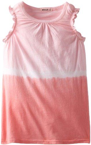Lamade Little Girls' Mandy Top, Pinkberry/Tea Rose, 5