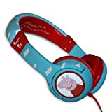 NEW! Peppa Pig Headphones - Kids Junior Headphones - PP0096 -