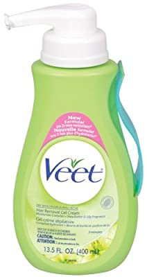 Best Cheap Deal for Veet Hair Removal Gel Cream, Dry Skin, Shea Butter & Lily, 13.5-Ounce Pump Bottles (Pack of 2) from Veet - Free 2 Day Shipping Available