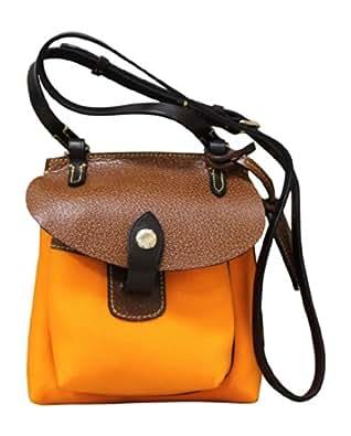 Dooney & Bourke Nylon Mini Pocket Crossbody Orange