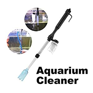 Ace aquarium battery syphon operated fish for Fish tank syphon