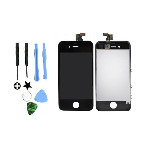 Limtech Iphone 4 4G Gsm (At&T) Premium Screen Replacement & Repair Deluxe Kit ,With Guide Book And Tools .Touchscreen Digitizer And Lcd Assembly