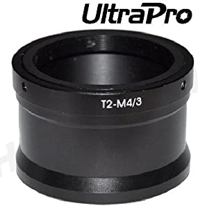 UltraPro T/T2 Lens Mount adapter for Olympus Micro 4/3 Mount, fits PEN Series Cameras: PEN E-PL1, E-P1, E-P2, E-PM1, E-PL2, E-PL5