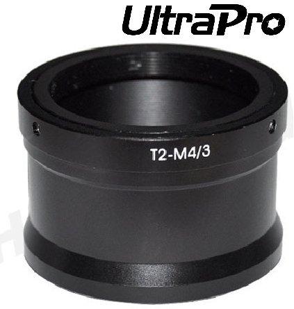 Ultrapro T/T2 Lens Mount Adapter For Olympus Micro 4/3 Mount, Fits Pen Series Cameras: Pen E-Pl1, E-P1, E-P2, E-Pm1, E-Pl2, E-Pl5